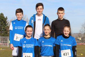 Baden-Württembergische Crosslaufmeisterschaften in Weinstadt