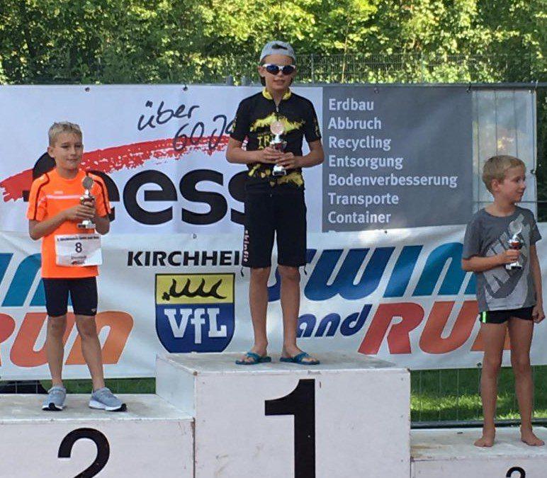 Connor Stawik gewinnt Swim&Run in Kirchheim/Teck