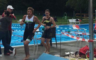 Zweimal Gold für TG Biberacher Triathletinnen