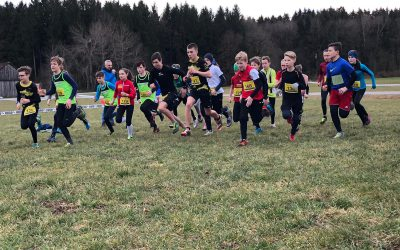 TG Tri-Kids erfolgreich bei Oberschwäbischer Crosslaufserie
