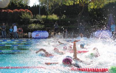Triathlon-Jugend der TG in Mengen und Winnenden