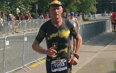 Uwe Späth trotzt widrigen Bedingungen und finisht IRONMAN Zürich